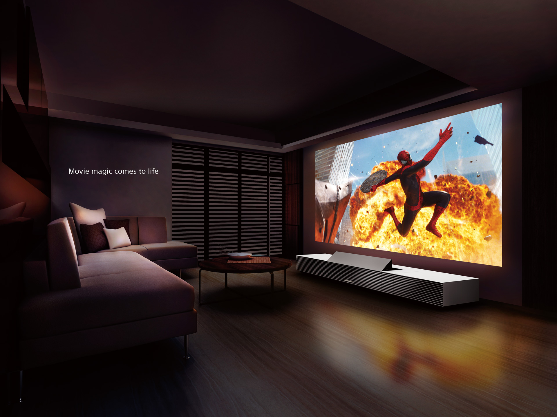 The Ultimate 4k Home Cinema Experience Cinemadream # Meuble Tv Sony Home Cinema